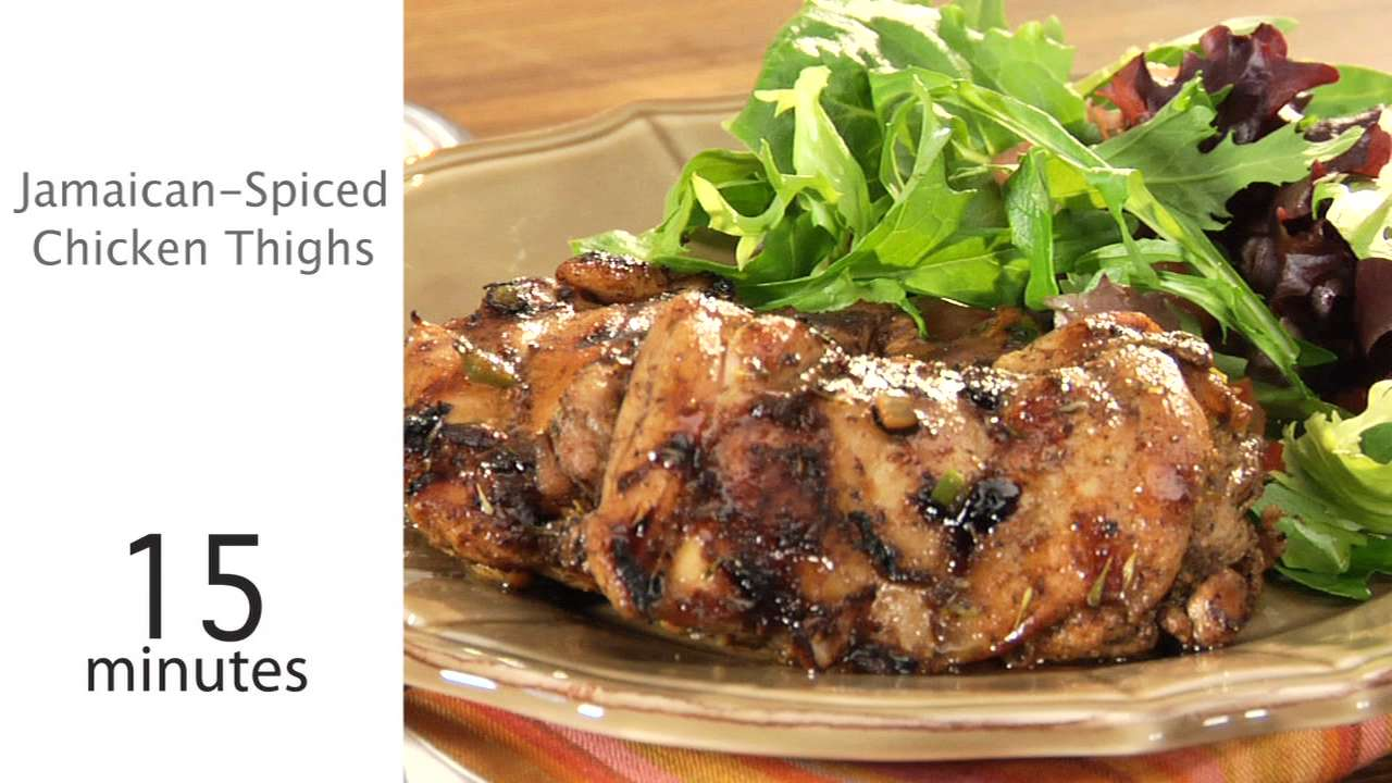 How to Cook Jamaican-Spiced Chicken Thighs