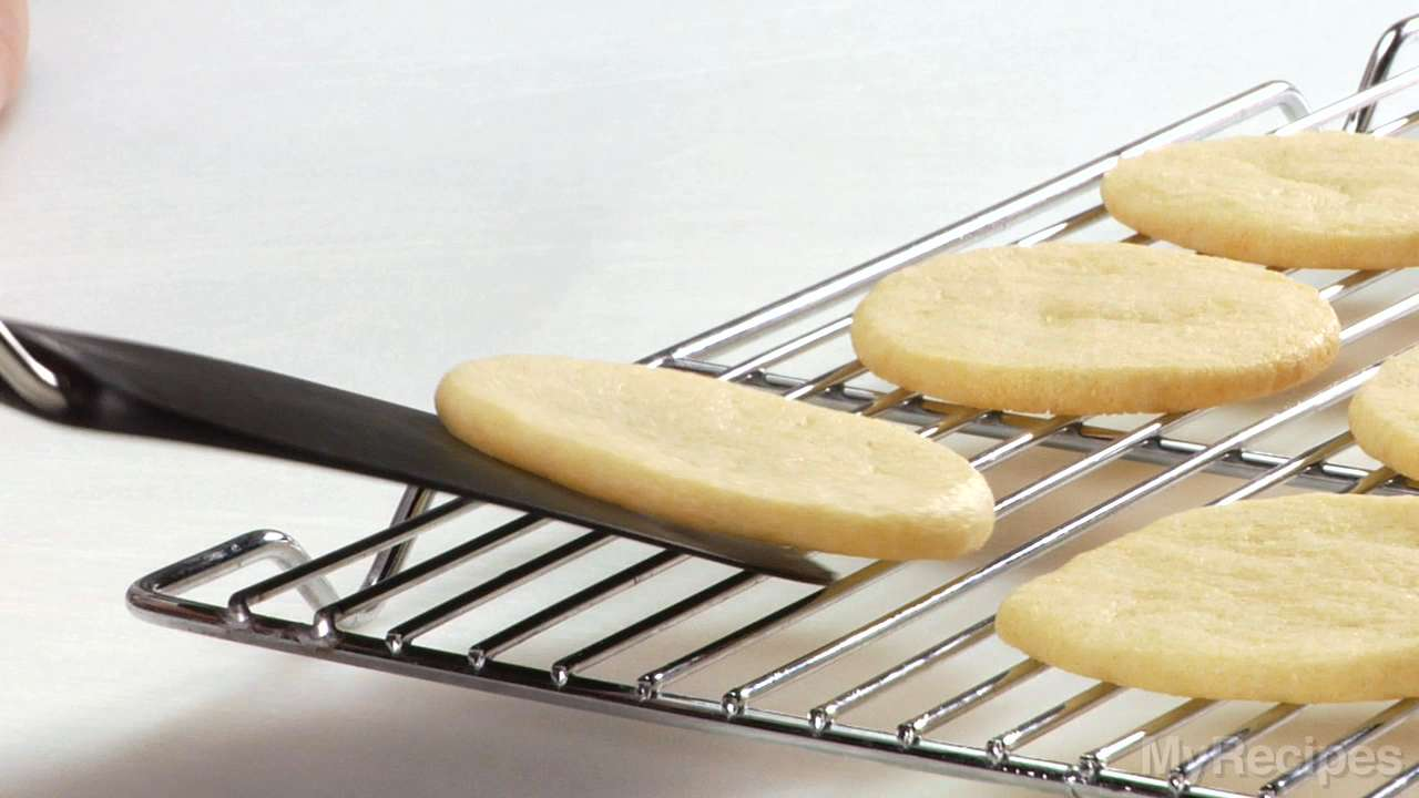 Slicing and Baking Cookies