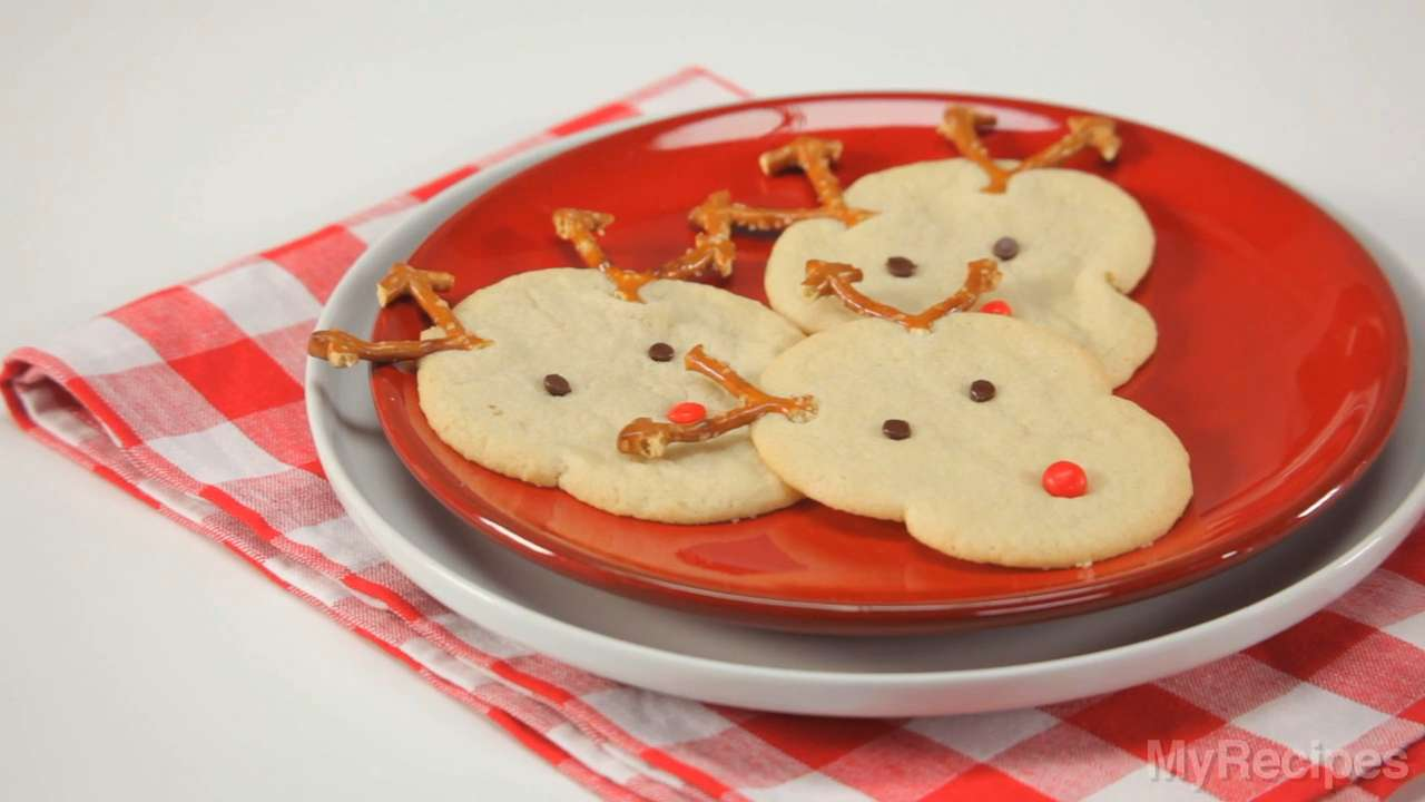 How to Bake Rudolph's Christmas Sugar Cookies