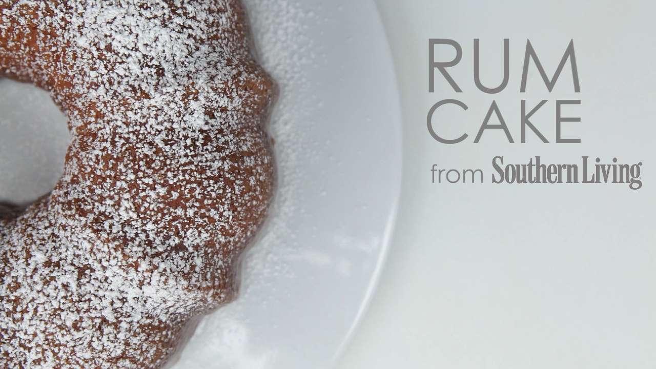 How to Make Rum Cake
