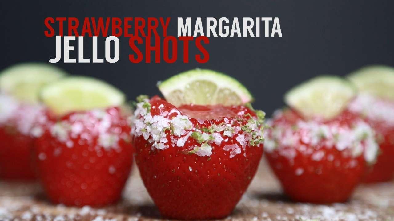 How to Make Strawberry Margarita Jell-O Shots