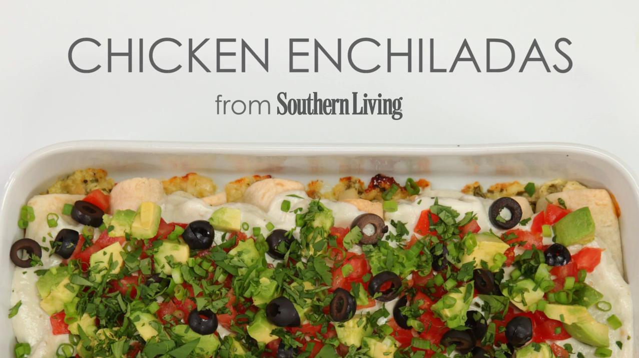 How to Make Our Best Chicken Enchiladas