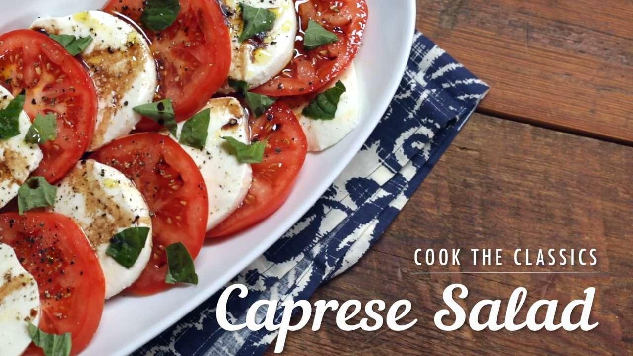 How to Make Caprese Salad