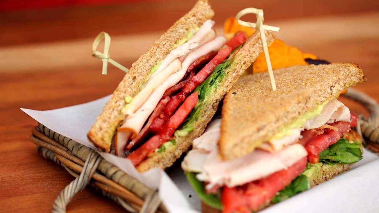 Lightened-Up Deli Sandwich