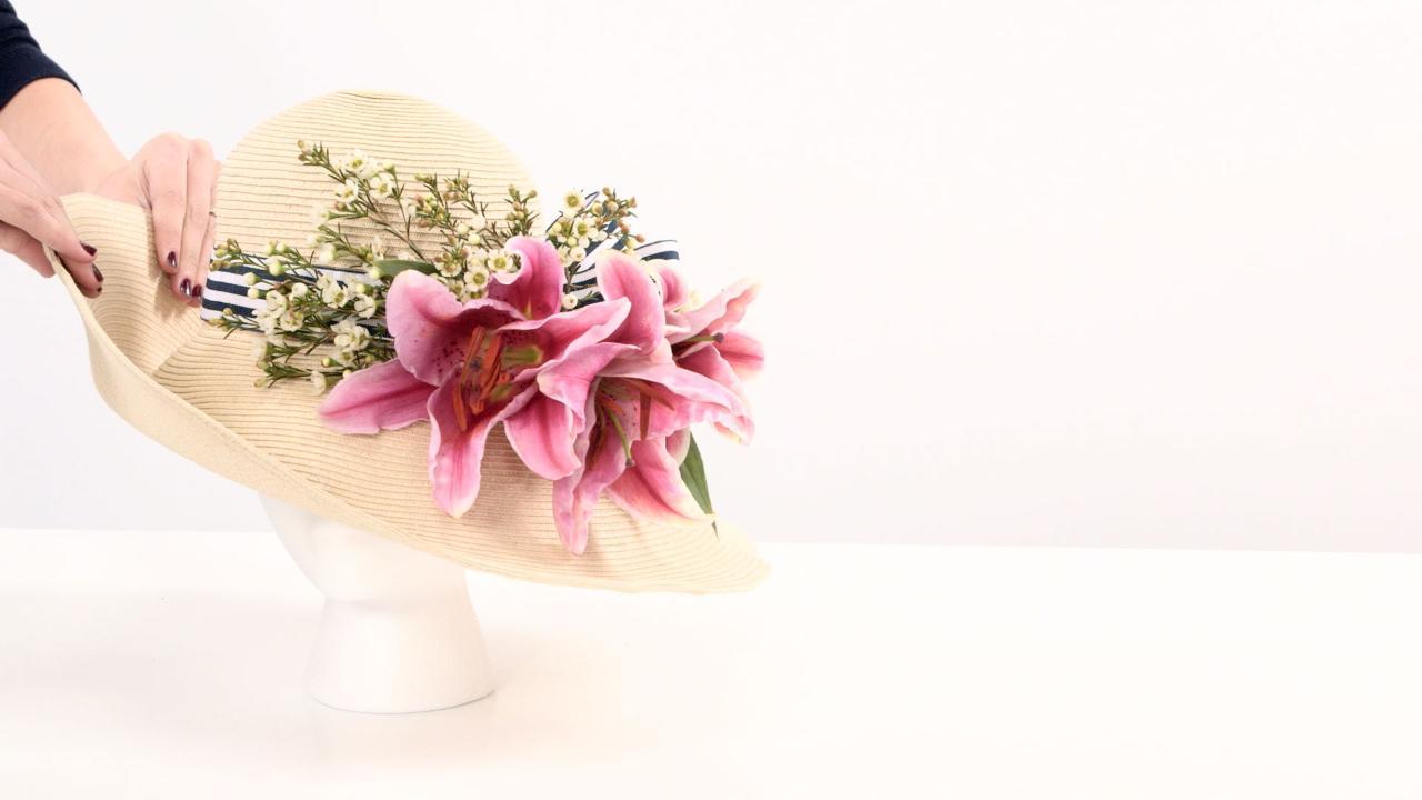 DIY Derby Hat