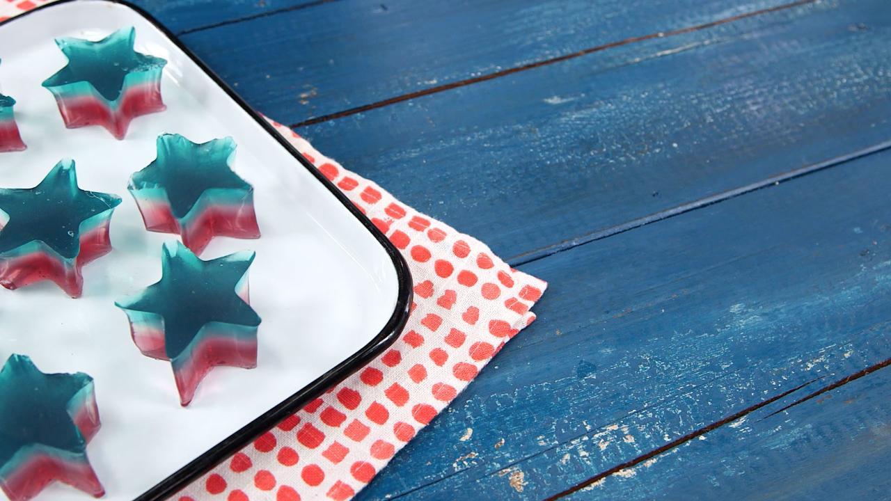 Patriotic Fruit Gummies