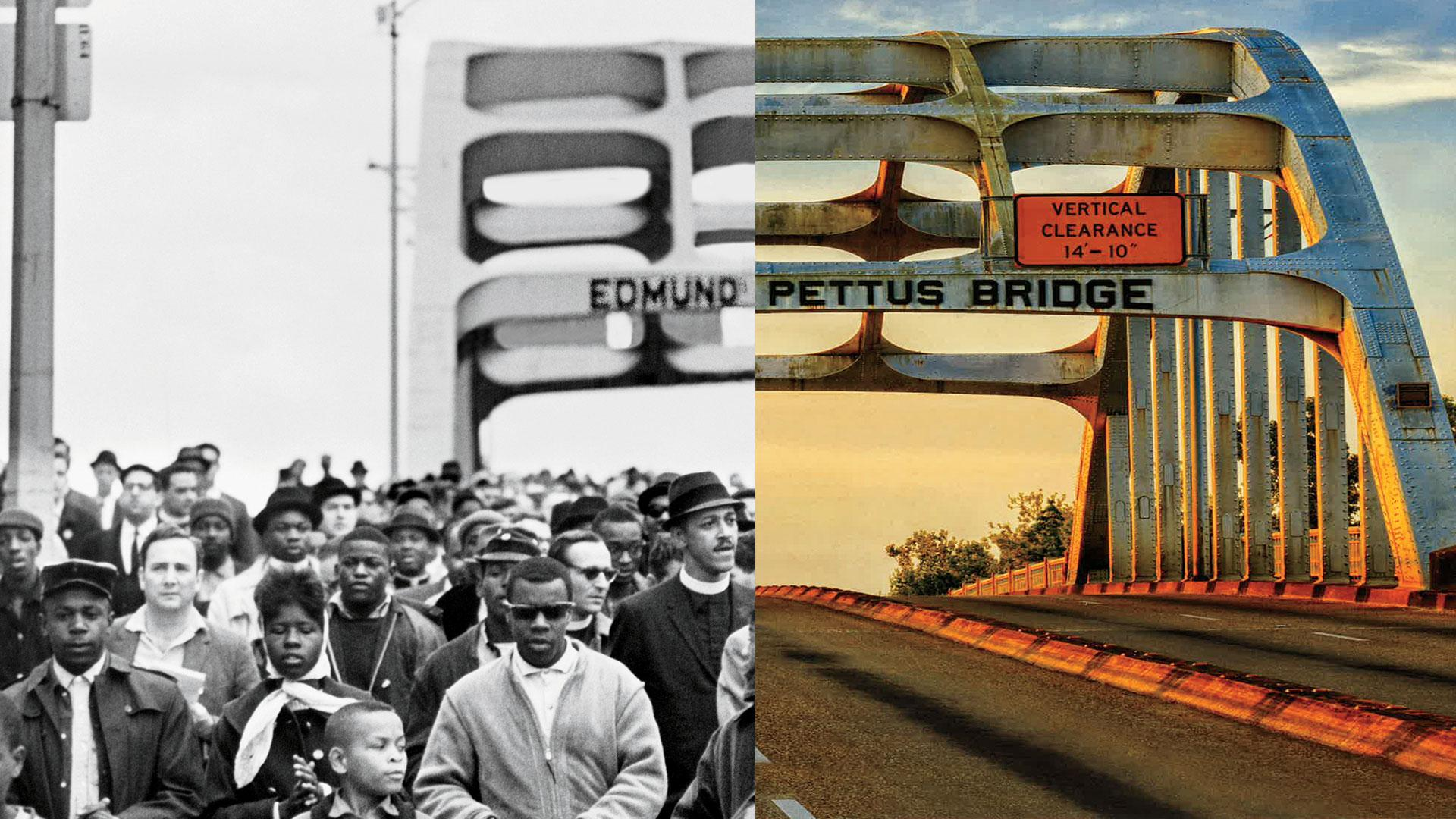 Iconic Civil Rights Landmarks, Then & Now