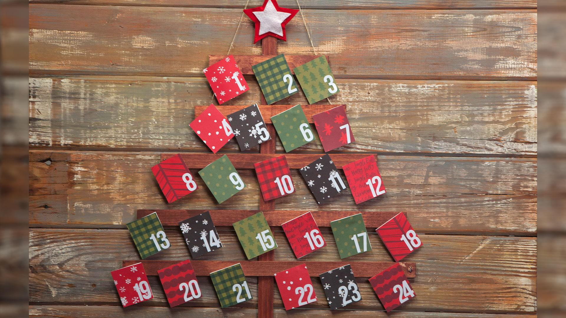 Make Your Own Christmas Advent Calendar