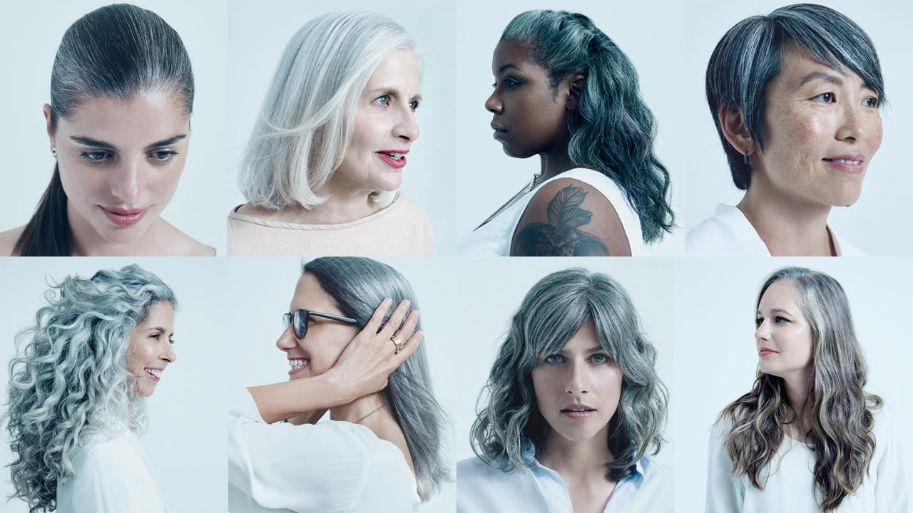 Related:What You Can Learn From 8 Women Who Embrace Their Gray Hair