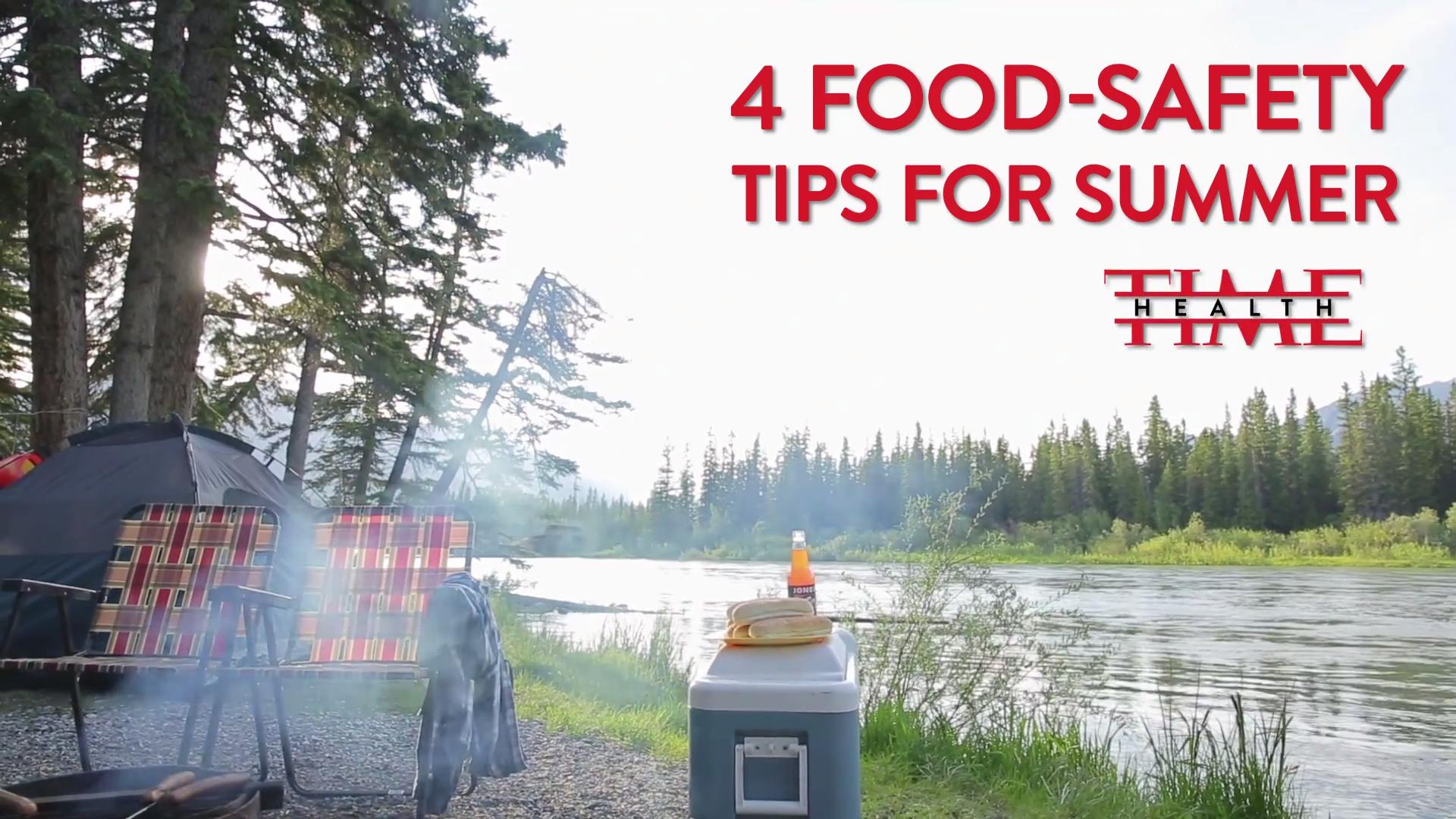 4 Food-Safety Tips For Summer