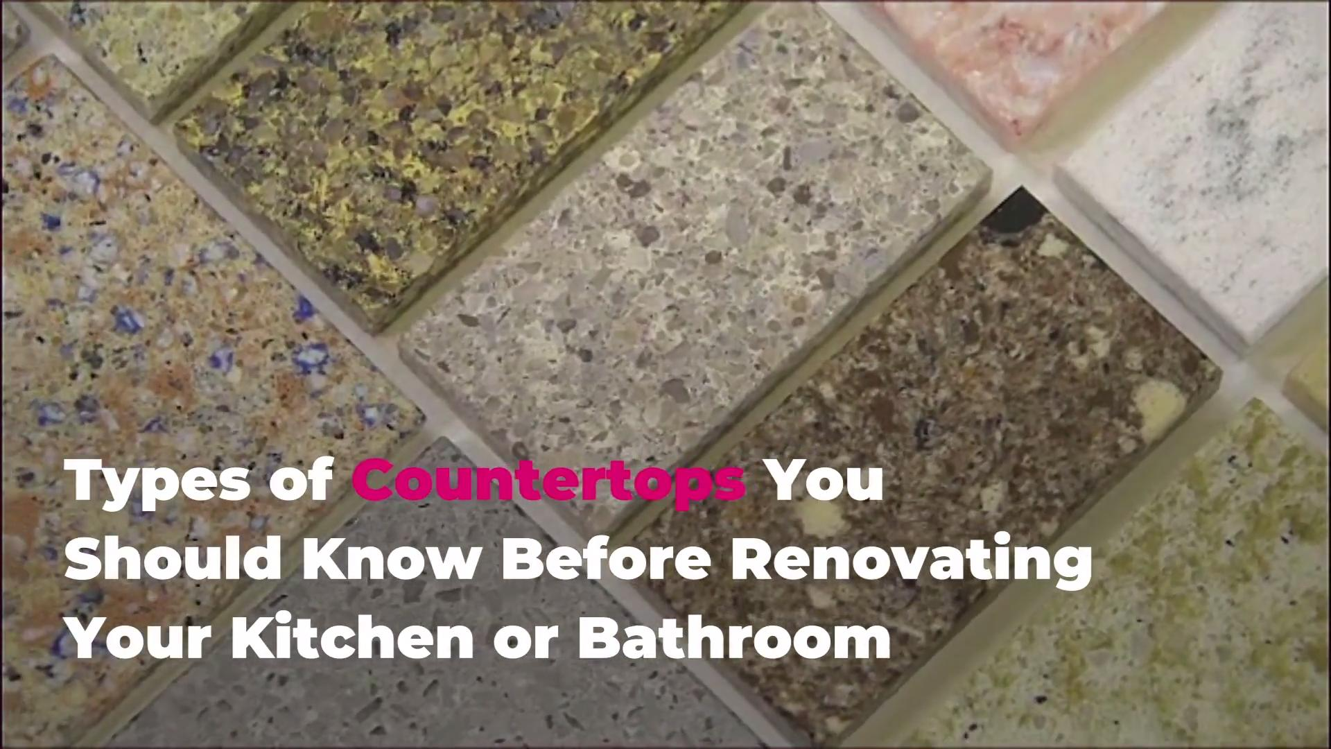 10 Types of Countertops to Know Before Your Renovation | Real Simple