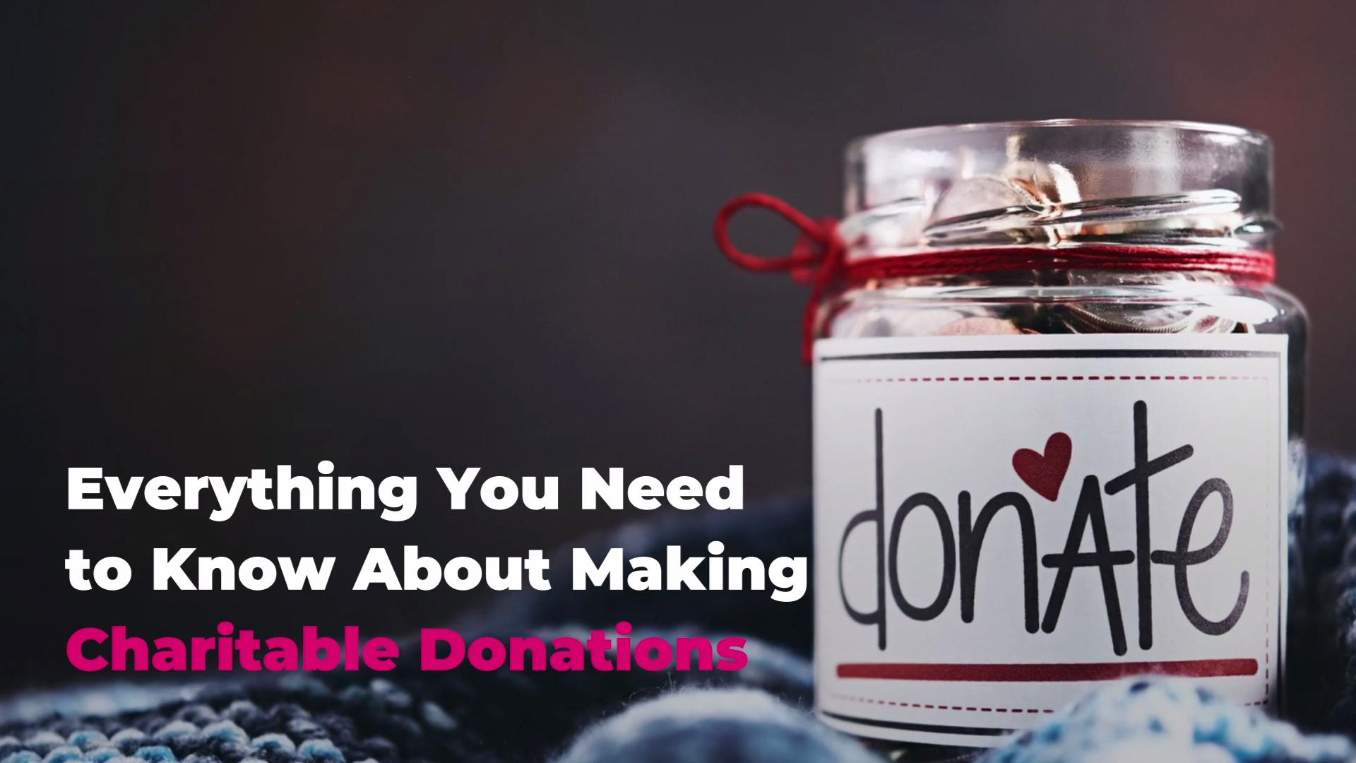 A Guide To Charitable Donations What To Know About Charitable Giving Real Simple