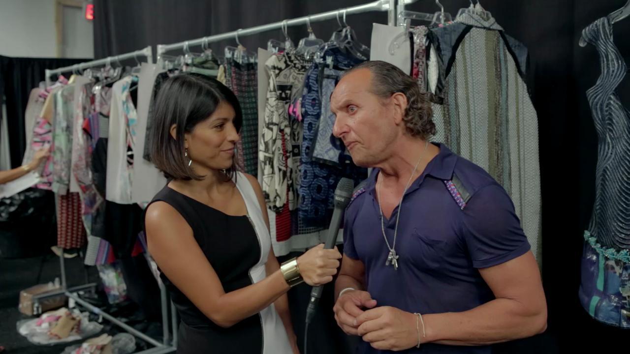 Custo Dalmau habla de su primer desfile en el Miami Fashion Week