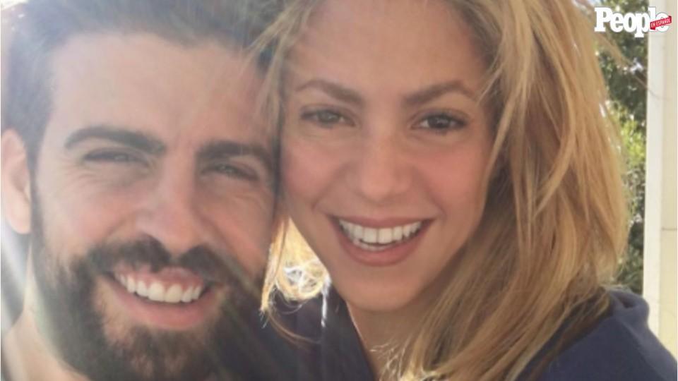 Gerard Piqué ejerce de papi y mami mientras Shakira ensaya para su gira