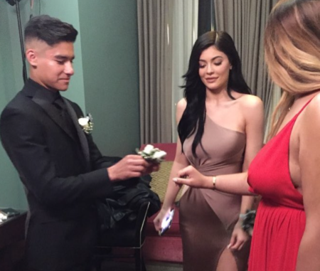 c39b8eaff72 Kylie Jenner s prom date really wishes she would call him - HelloGiggles