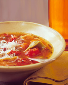 Minestrone with Fresh Herbs