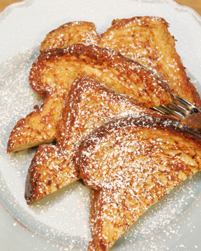 French Toast with Cognac and Citrus