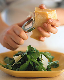Arugula with Parmesan
