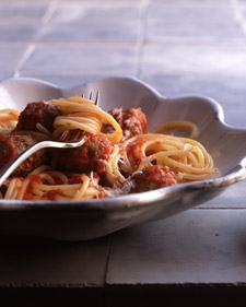 Spaghetti and Meatballs for Two