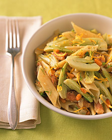 Pasta with Fennel, Sardines, and Pine Nuts