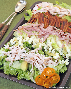 Chef's Salad with Roquefort Dressing