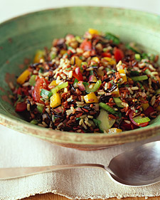 Wild- and Brown-Rice Salad