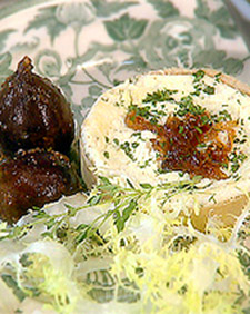 Goat Cheese Tartlets with Caramelized Shallots