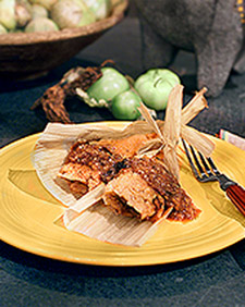 Rick's Red Chile Pork Tamales