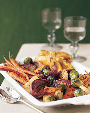 Roasted Mixed Vegetables
