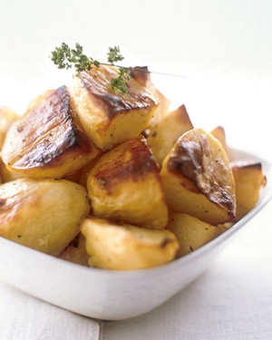 Greek Lemon-Roasted Potatoes