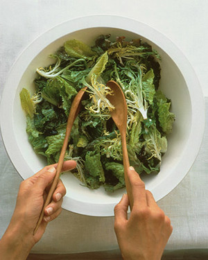 Mixed Greens with Creamy Vinaigrette