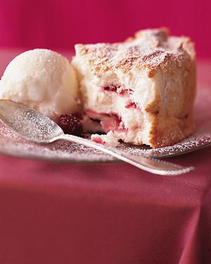 Buttermilk Sorbet for Angel Food Swirl Cake