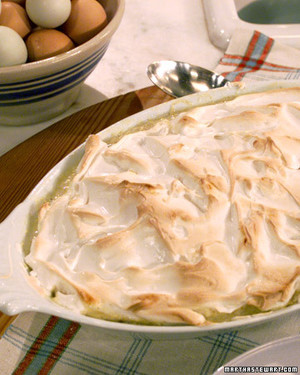 Meringue Topped Rice Pudding