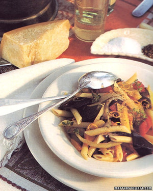 Penne with Summer Vegetable Ragout
