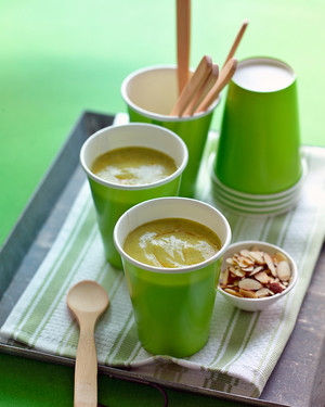 Curried Zucchini Soup image