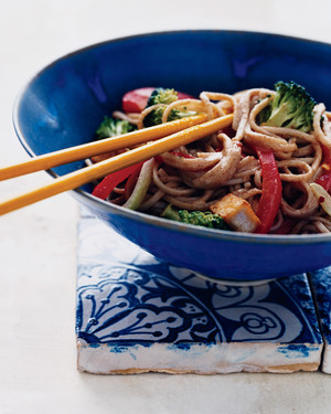 Soba, Tofu, and Vegetable Stir-Fry