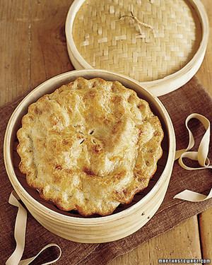 Double-Crust Chicken and Mushroom Pie
