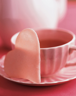 Pink Heart Tuiles