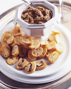 Chicken Liver Pate with White Truffles