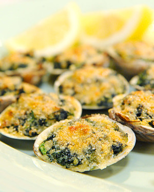 Peter Lo Cascio's Baked Clams