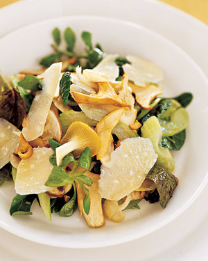 Mushroom-and-Celery Salad with Parmesan Cheese