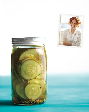Quick Pickles with Tarragon