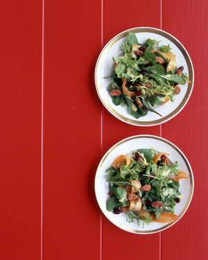 Salad with Cranberries and Almonds