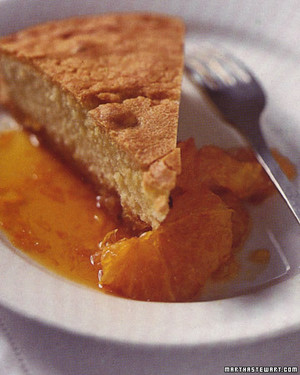 Almond Cake with Caramelized Oranges