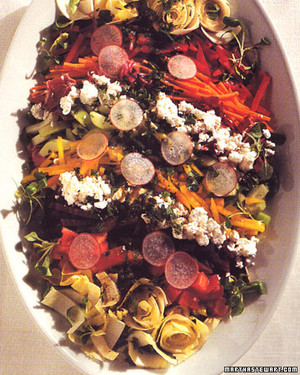 Chopped Salad with Feta Cheese