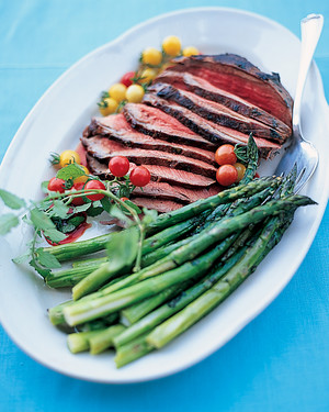 Grilled Top-Round Lamb