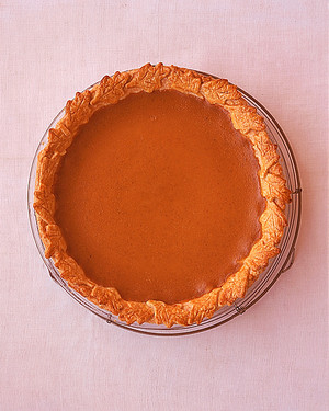 Pumpkin Pie Made with Roasted Fresh Pumpkin