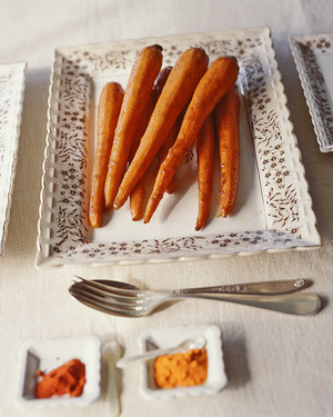 Giant Roasted Carrots