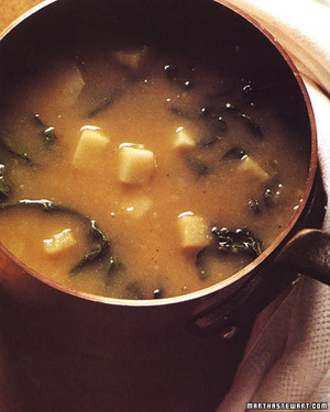 Potato and Greens Soup