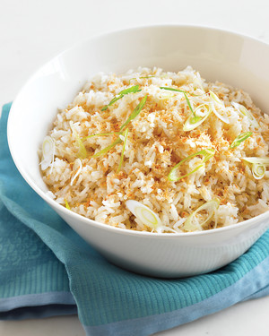 Toasted-Coconut Rice